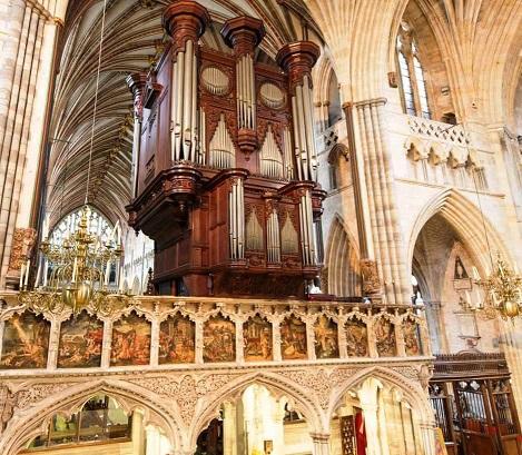 Mendelssohn, Schumann, Brahms et l'orgue romantique allemand Exeter11
