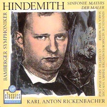 Hindemith - Musique pour Orchestre / Ensemble Hindem11