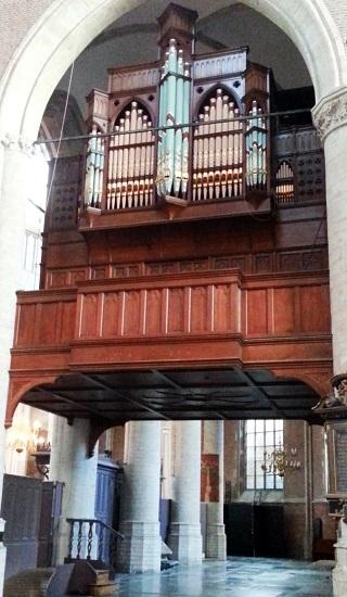 Mendelssohn, Schumann, Brahms et l'orgue romantique allemand Leiden10