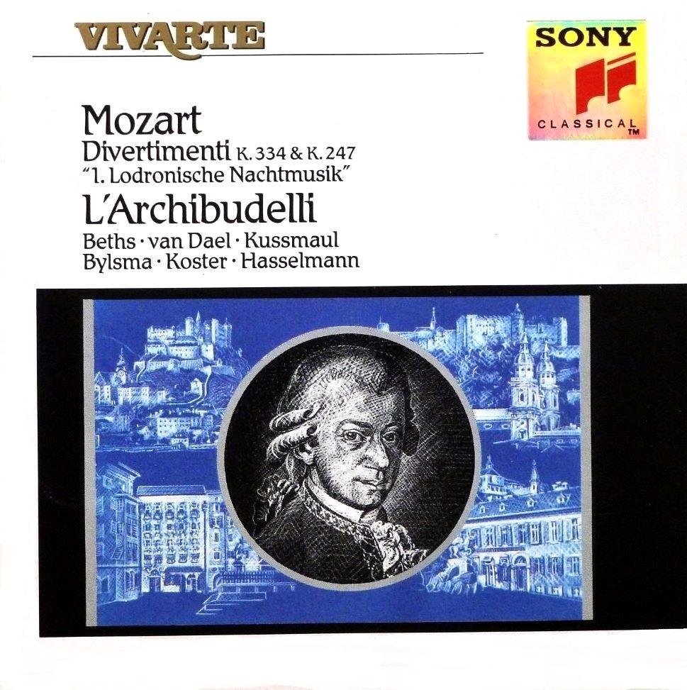 Mozart : sérénades et divertimenti - Page 2 Mozart37