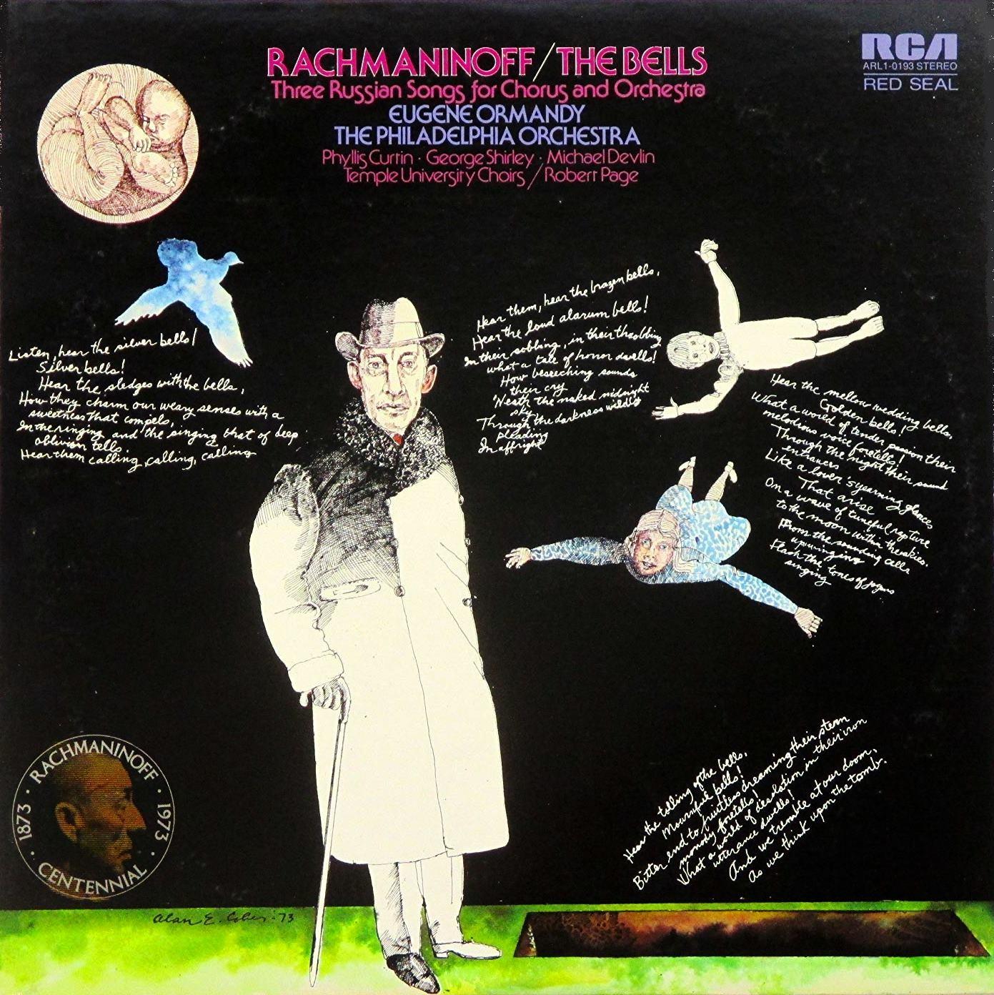 Rachmaninov -Les Cloches, + oeuvres vocales avec orchestre Rachma13