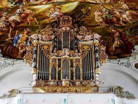 Orgue baroque germanique -instruments et répertoire Wolfeg10