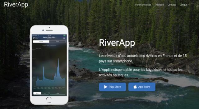 RiverApp / Application des niveaux d'eau des rivières en France Rivera10