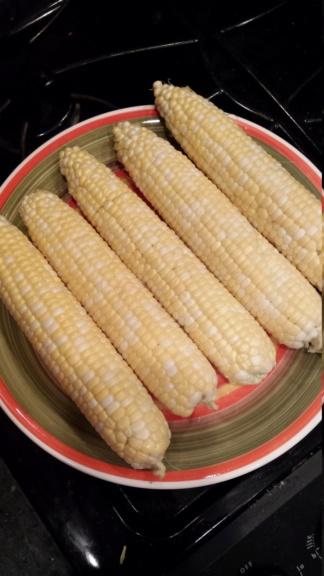 Corn - 'Peaches and Cream' 20180810