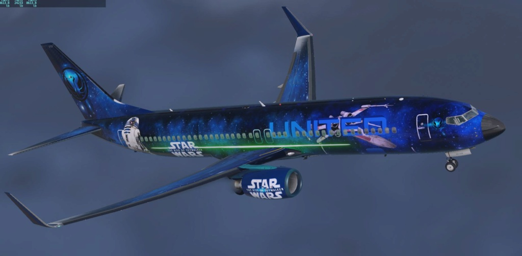 Liveries 737-800 Star Wars 9maeah10