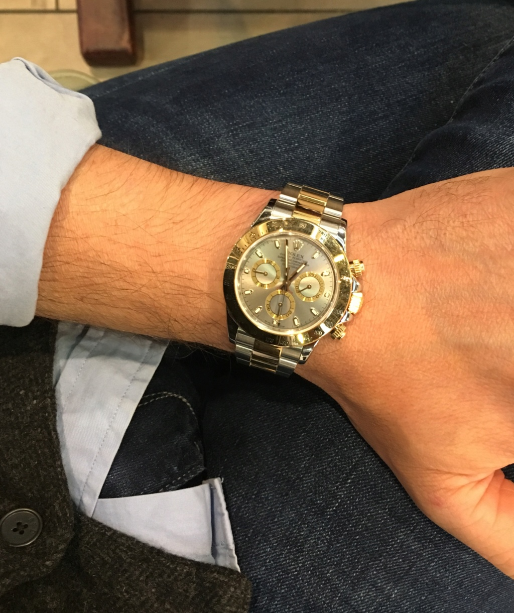 Daytona - [Vendue] Rolex Daytona Rolesor 116523 10750€ + FDP D7359b10