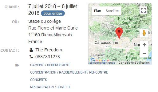 Occitanie - 7  & 8 juillet - 2E RASSEMBLEMENT MOTOS THE FREEDOM – RIEUX MINERVOIS (11) 2018-113