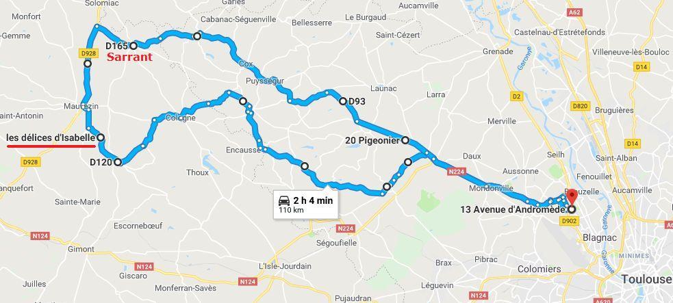 ANNULE - Occitanie - Sortie foie gras et pot de fin d'année le 25/11 - ANNULE 2018-685