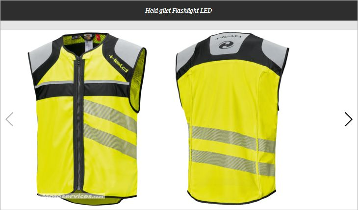 Held Flashlight Led : Le gilet jaune révolutionnaire 2018-702