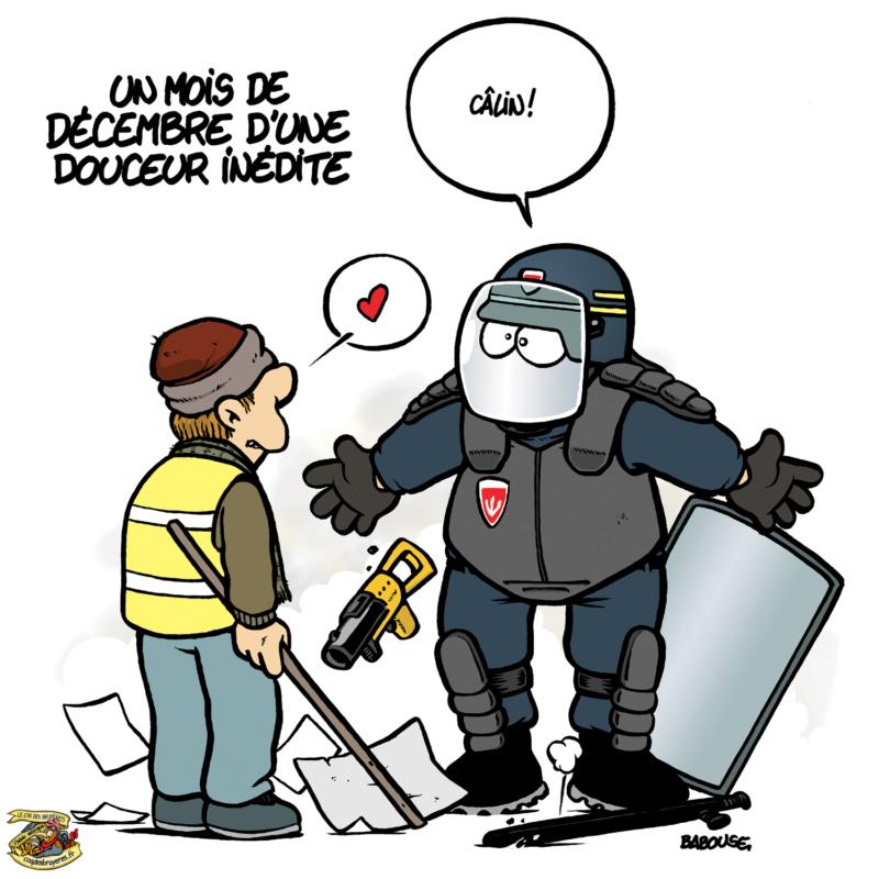 Dessin remarquable de la Revue de Presque qui Cartoone Babous44