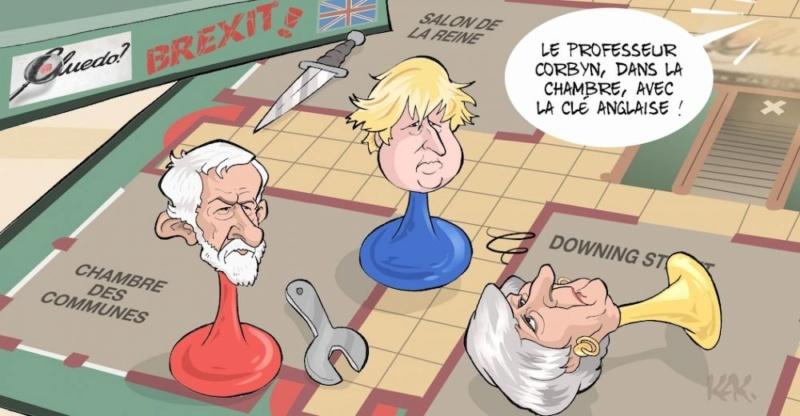 Actu en dessins de presse - Attention: Quelques minutes pour télécharger - Page 17 Brexit11