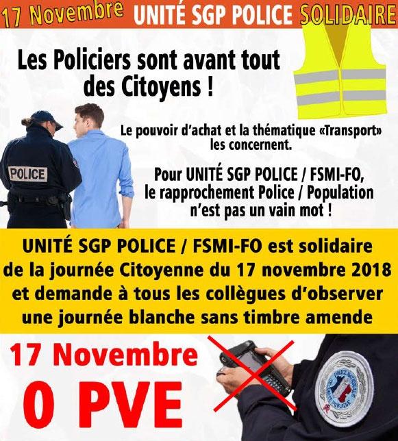 Carburants : un syndicat de police appelle au 0 PV Carbur10