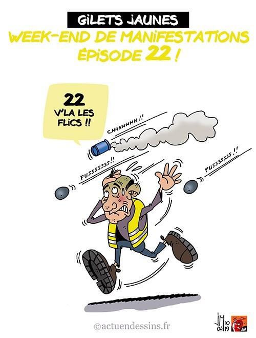 Actu en dessins de presse - Attention: Quelques minutes pour télécharger - Page 18 Gilets24