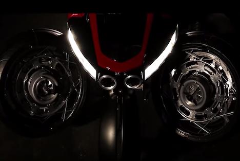 Ludovic Lazareth dévoile sa moto volante LMV 496 Lazare10
