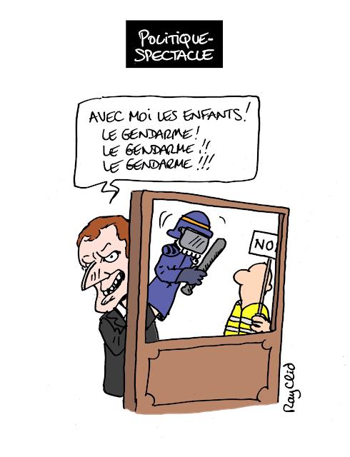 Actu en dessins de presse - Attention: Quelques minutes pour télécharger - Page 17 Macron10