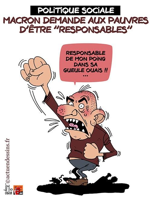 Actu en dessins de presse - Attention: Quelques minutes pour télécharger - Page 15 Macron11