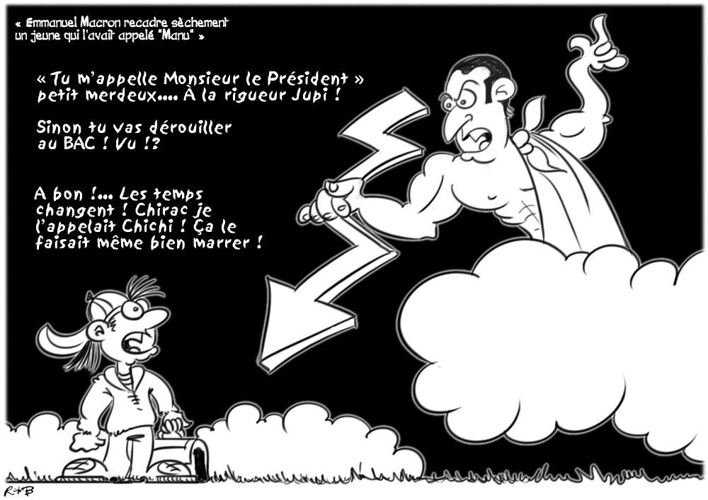 Actu en dessins de presse - Attention: Quelques minutes pour télécharger - Page 15 Macron12