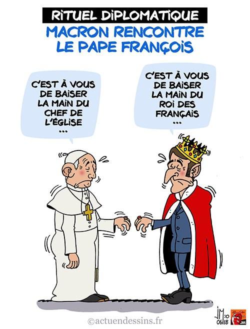 Actu en dessins de presse - Attention: Quelques minutes pour télécharger - Page 15 Macron14