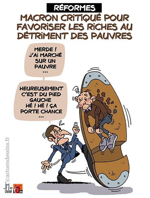 Actu en dessins de presse - Attention: Quelques minutes pour télécharger - Page 15 Macron15