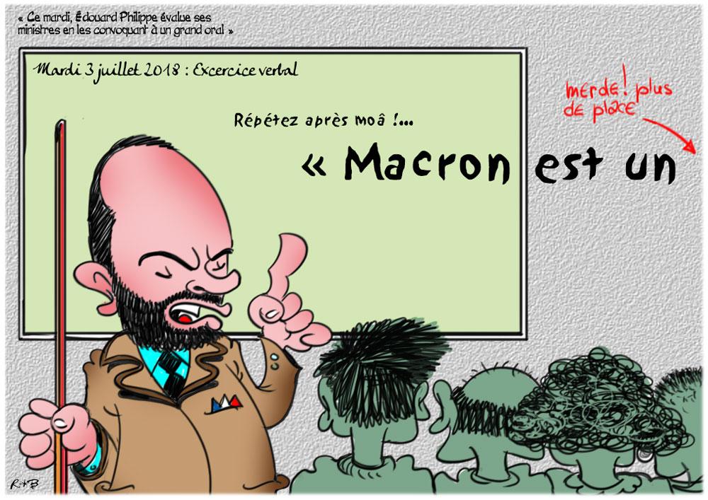 Actu en dessins de presse - Attention: Quelques minutes pour télécharger - Page 15 Macron17