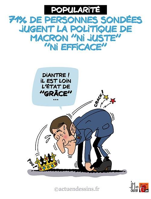 Actu en dessins de presse - Attention: Quelques minutes pour télécharger - Page 15 Macron18