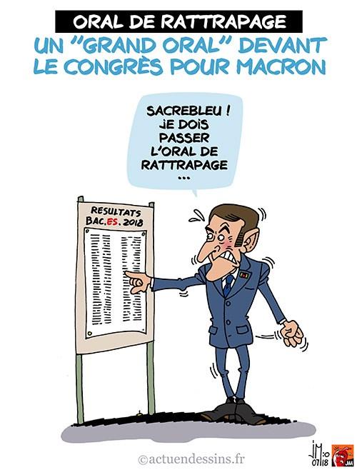 Actu en dessins de presse - Attention: Quelques minutes pour télécharger - Page 15 Macron20
