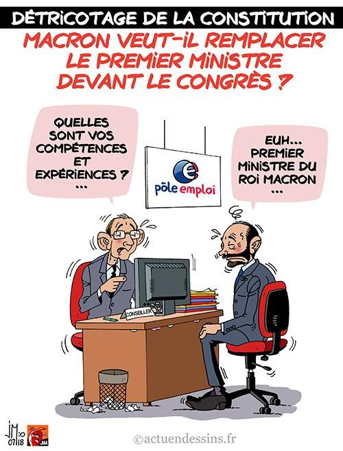 Actu en dessins de presse - Attention: Quelques minutes pour télécharger - Page 15 Macron21