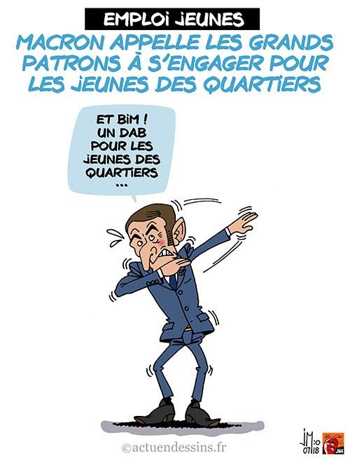 Actu en dessins de presse - Attention: Quelques minutes pour télécharger - Page 15 Macron22