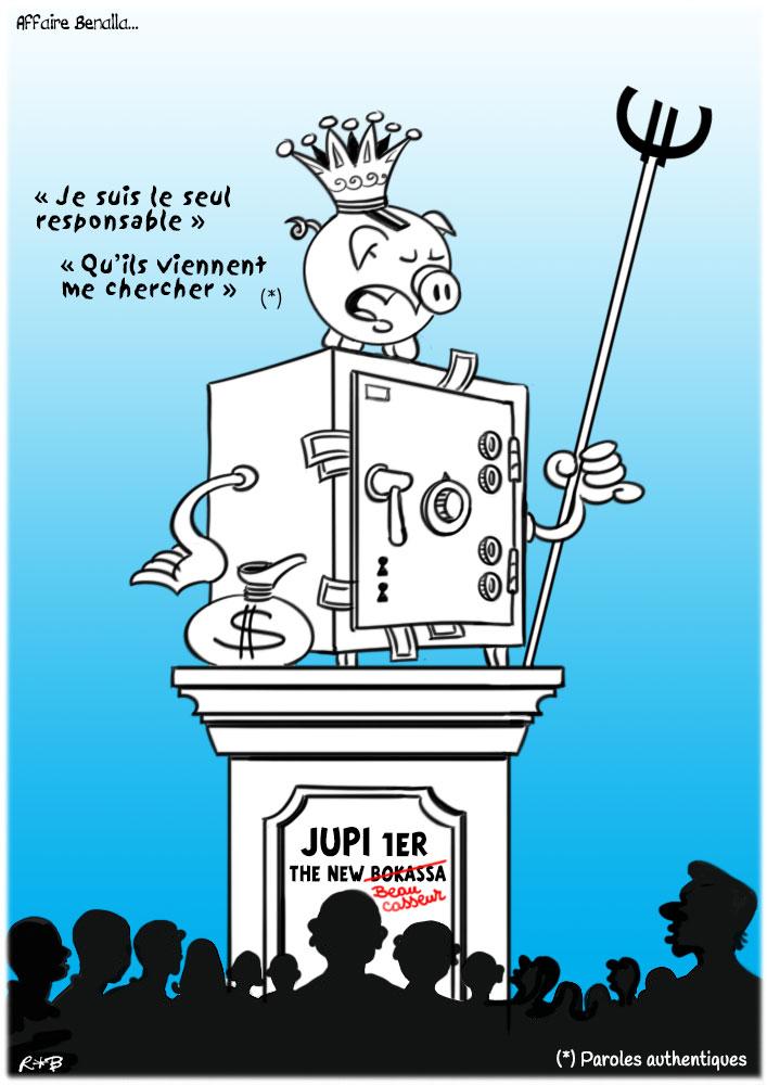 Actu en dessins de presse - Attention: Quelques minutes pour télécharger - Page 15 Macron26