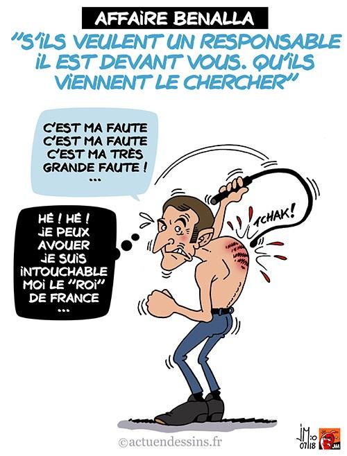 Actu en dessins de presse - Attention: Quelques minutes pour télécharger - Page 15 Macron27