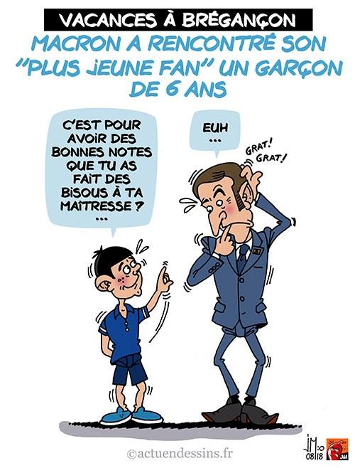 Actu en dessins de presse - Attention: Quelques minutes pour télécharger - Page 15 Macron28