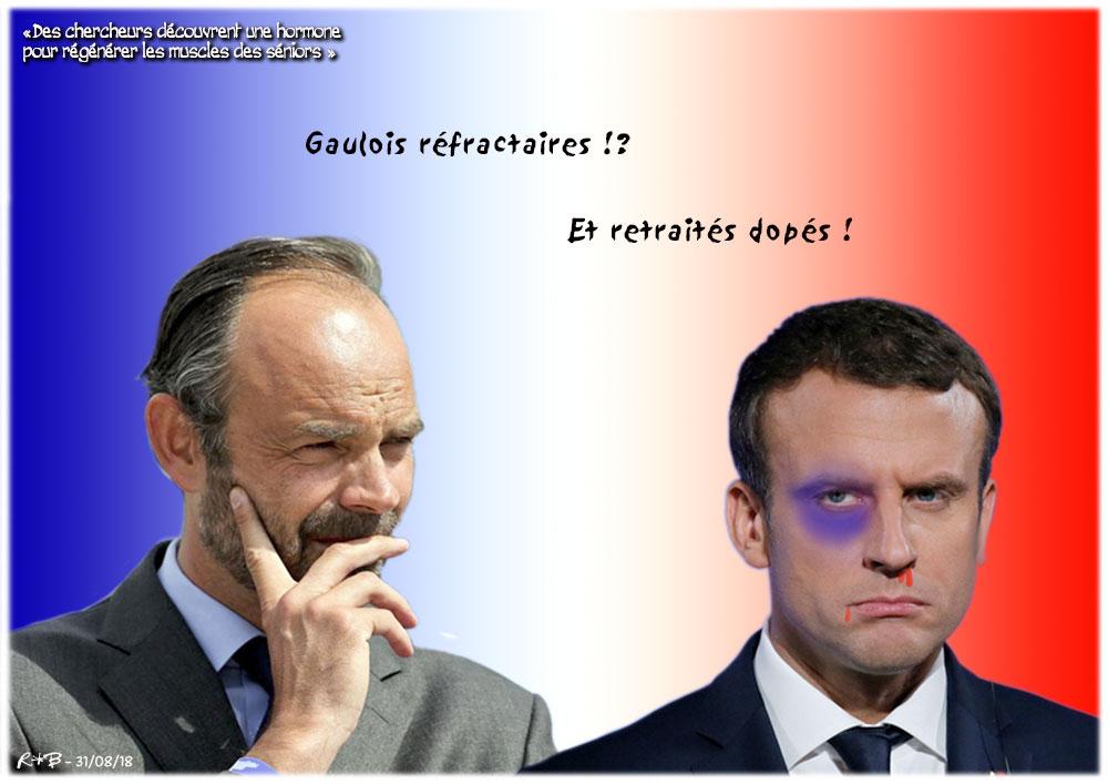 Actu en dessins de presse - Attention: Quelques minutes pour télécharger - Page 16 Macron31