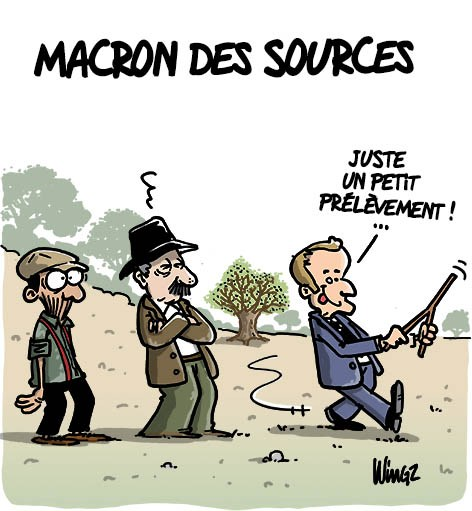 Actu en dessins de presse - Attention: Quelques minutes pour télécharger - Page 16 Macron33