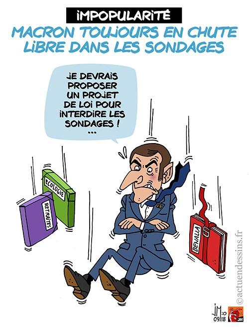 Actu en dessins de presse - Attention: Quelques minutes pour télécharger - Page 16 Macron34