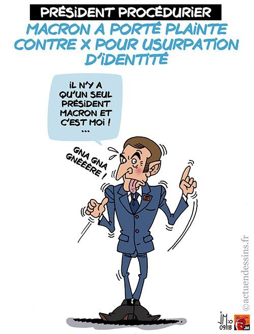Actu en dessins de presse - Attention: Quelques minutes pour télécharger - Page 16 Macron40