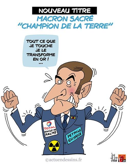 Actu en dessins de presse - Attention: Quelques minutes pour télécharger - Page 16 Macron45