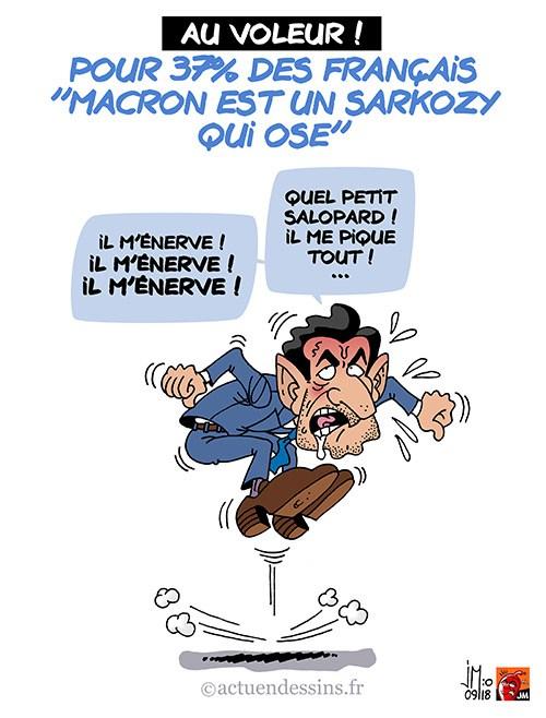 Actu en dessins de presse - Attention: Quelques minutes pour télécharger - Page 16 Macron46