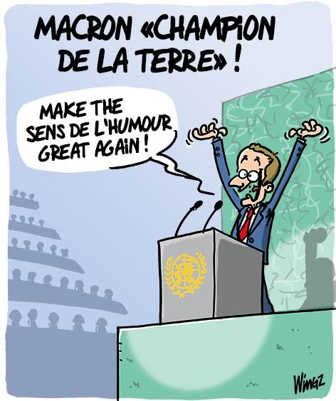 Actu en dessins de presse - Attention: Quelques minutes pour télécharger - Page 16 Macron47