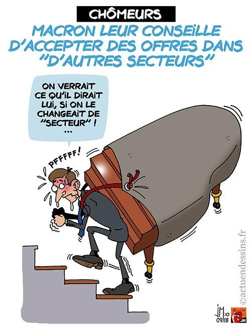 Actu en dessins de presse - Attention: Quelques minutes pour télécharger - Page 16 Macron48