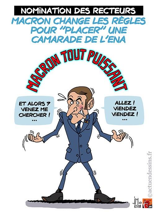 Actu en dessins de presse - Attention: Quelques minutes pour télécharger - Page 16 Macron52