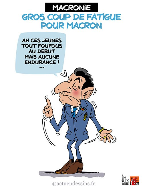 Actu en dessins de presse - Attention: Quelques minutes pour télécharger - Page 16 Macron54