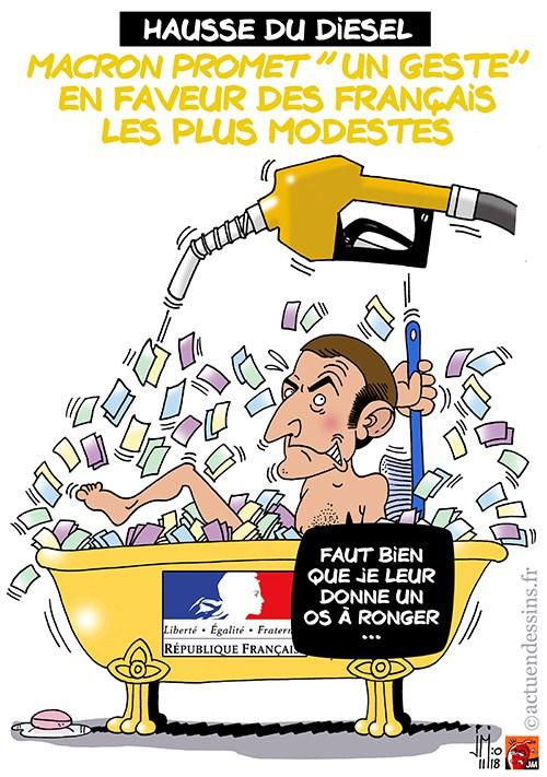 Actu en dessins de presse - Attention: Quelques minutes pour télécharger - Page 16 Macron55