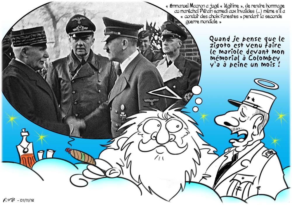 Actu en dessins de presse - Attention: Quelques minutes pour télécharger - Page 16 Macron58