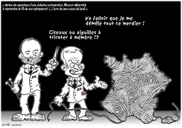 Actu en dessins de presse - Attention: Quelques minutes pour télécharger - Page 17 Macron71