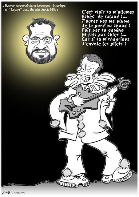 Actu en dessins de presse - Attention: Quelques minutes pour télécharger - Page 17 Macron72