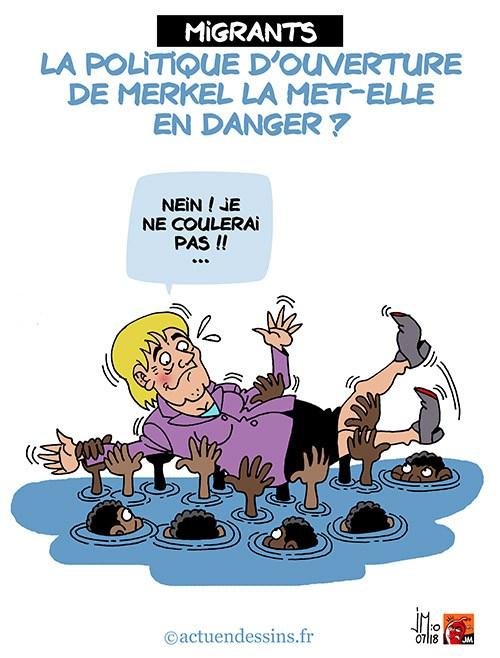 Actu en dessins de presse - Attention: Quelques minutes pour télécharger - Page 15 Merkel10