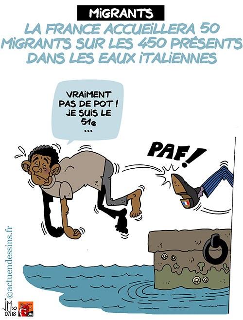 Actu en dessins de presse - Attention: Quelques minutes pour télécharger - Page 15 Migran10
