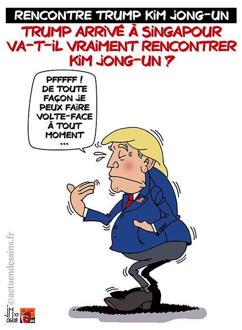 Actu en dessins de presse - Attention: Quelques minutes pour télécharger - Page 15 Trump-11
