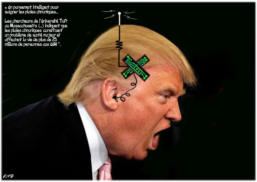 Actu en dessins de presse - Attention: Quelques minutes pour télécharger - Page 15 Trump-15