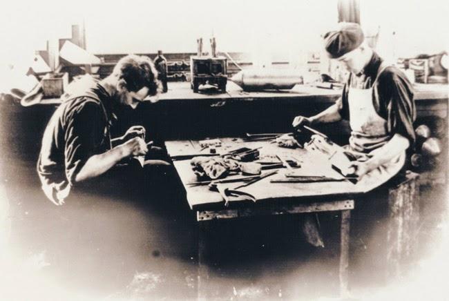 Visite photographique de l'usine Indian... en 1908 Indian16
